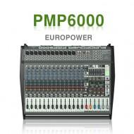 PMP6000 /듀얼멀티FX프로세서와 FBQ 피드백감지시스템, 1600와트,20채널 파워믹서앰프