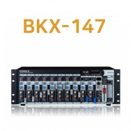 카날스 BKX-147 전문가용 오디오믹서앰프 14채널 KANALS 믹싱콘솔 이펙터 플레이어내장 랙타입