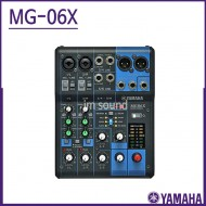 MG06X/야마하(YAMAHA)/ 아날로그 믹서 믹서 6채널