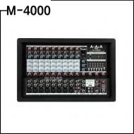 M-4000/ 파워드믹서앰프/10CH/USB/이펙터내장/900와트