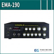 EMA-190/ USB/SD Card/에코/AUX/블루투스/다용도앰프/180와트