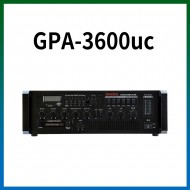 GPA-3600UC/USB/SD Card/라디오/카셋트/마이크1,2,3,4,/마이크1뮤트기능/AUX1,2/라인출력/챠임,싸이렌/펜텀파워/5회로셀렉터/AC,DC24V겸용/360와트