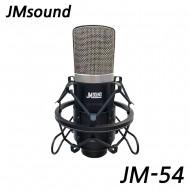 JM54/JM SOUND/배터리1.5V타입/콘덴서마이크/녹음/홈레코딩/유튜브/인터넷방송