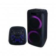 카날스 BS-8700 블루투스 PA충전용스피커 블루투스/녹음/USB/MP3플레이어/2대동시연결가능/400와트